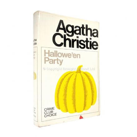 Hallowe'en Party by Agatha Christie First Edition Published The Crime Club by Collins 1969